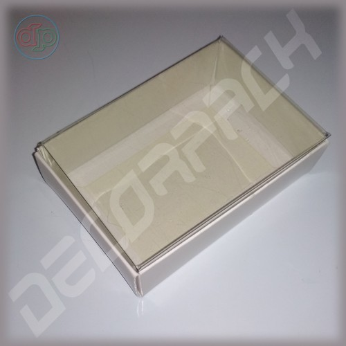 Коробка 100*70*30 мм  (с прозрачной крышкой)
