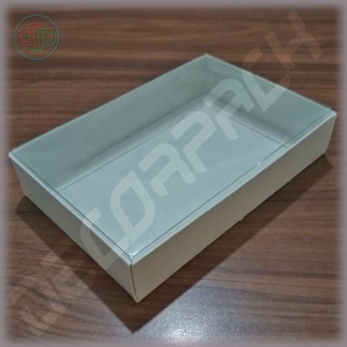 Коробка 170*140*25 мм  (с прозрачной крышкой)