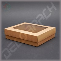 Коробка 260*200*65 мм  (c окном)