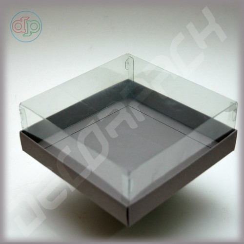 Коробка 150*150*60 мм  (с прозрачным куполом)