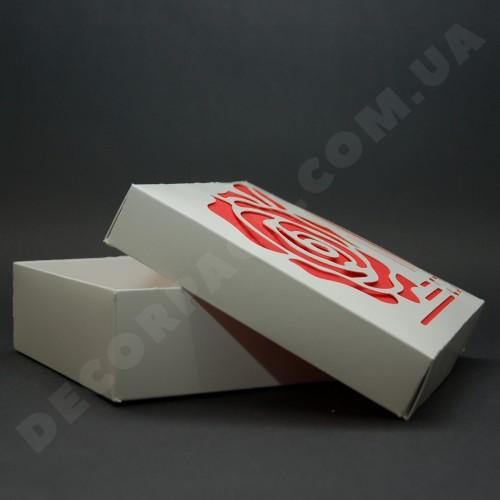 Коробка 150*150*50 мм  (c окном Rose)