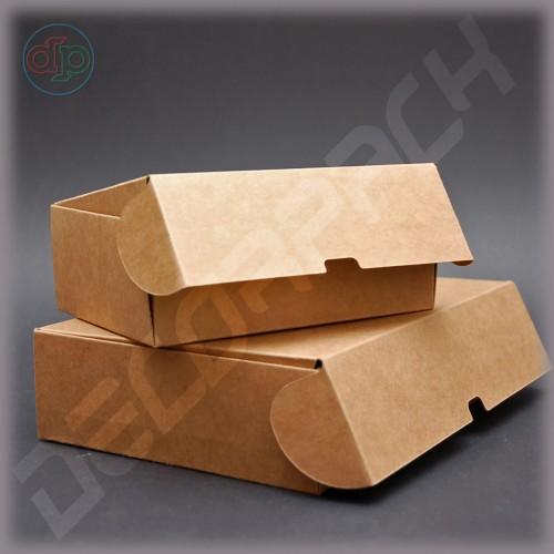 Коробка 230*150*60 мм  с откидной крышкой