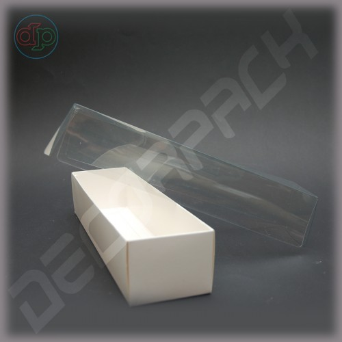 Коробка 260*68*55 мм  (прозрачная внутренняя крышка)