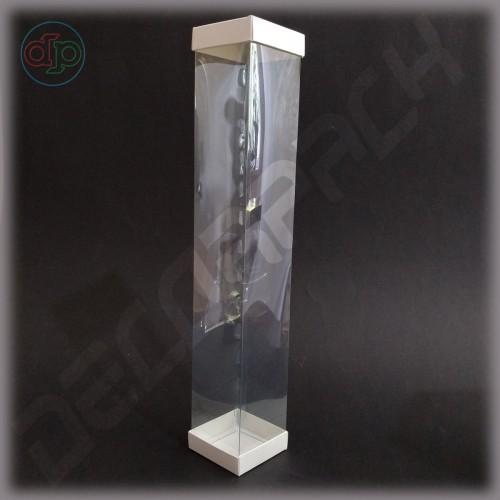 Коробка 70*70*400 мм  (с прозрачными стенками)