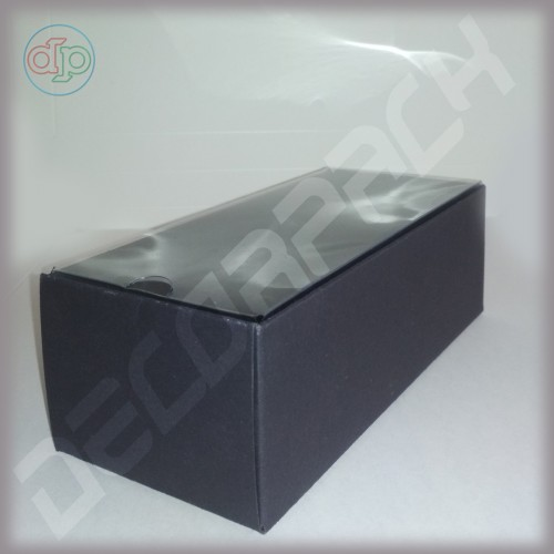 Коробка 180*80*60 мм  (внутренняя пластиковая крышка)