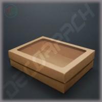 Коробка 240*180*50 мм  (c окном)