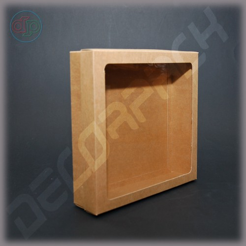 Коробка 200*200*100 мм, крафт