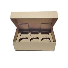 Коробка для капкейков на 6 шт. (без окна, микрогофрокартон)
