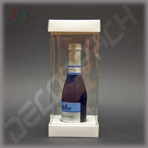 Коробка 100*100*240 мм  (с прозрачными стенками, аквариум)