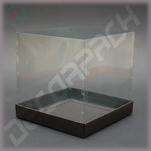 Коробка 150*150*150 мм с прозрачной крышкой