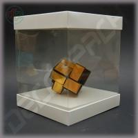 Коробка-аквариум для упаковки подарков 150*150*150 мм