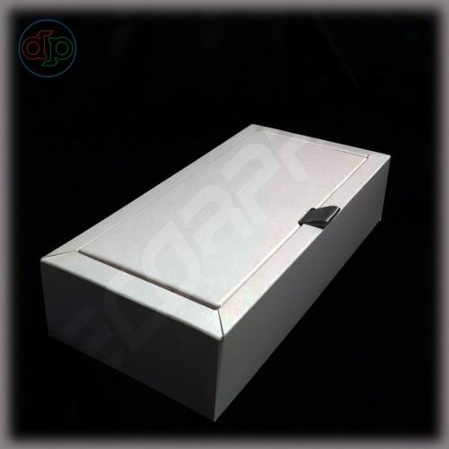 Коробка 170(150)*95(75)*45 мм с внутренней картонной крышкой