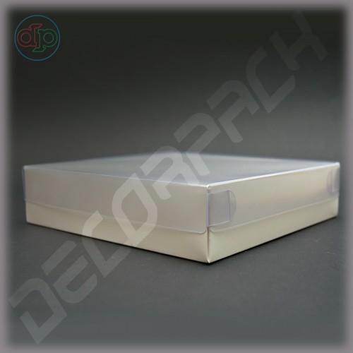 Коробка 300(270)*300(270)*80 мм ,наружная пластиковая крышка