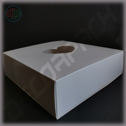 Коробка 300(270)*300(270)*80 мм , крышка-пенал под склейку