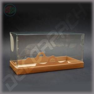 Коробка 300*150*150 мм с прозрачной крышкой-купол