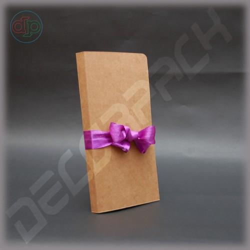 Открытка-шоколадница (заготовка для скрапбукинга) 107*10*210 мм