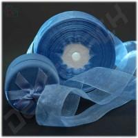 Лента из органзы голубая
