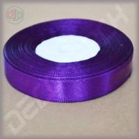 Лента атласная фиолетовый (ширина - 12 мм)