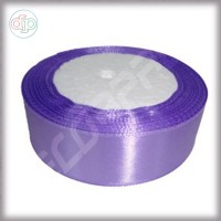 Лента атласная темно-лиловый (ширина - 25 мм)