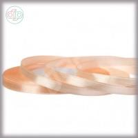 Лента атласная персиковый (ширина - 6 мм)
