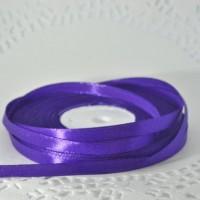Лента атласная фиолетовая (ширина - 6мм)