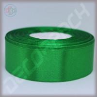 Лента атласная зелёный (ширина - 25 мм)