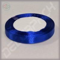 Лента атласная синий (ширина - 12 мм)