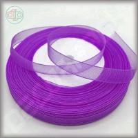 Лента из органзы фиолетовая 2 см