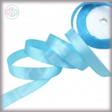 Лента атласная небесно-голубой (ширина - 12 мм)