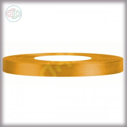 Лента атласная золотой, 6 мм