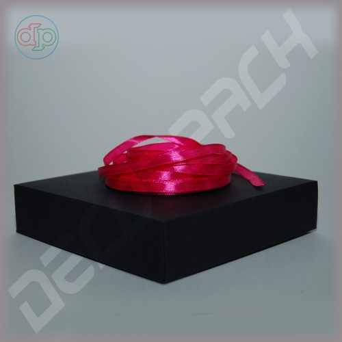 Лента атласная ярко-розовая (ширина - 6 мм)