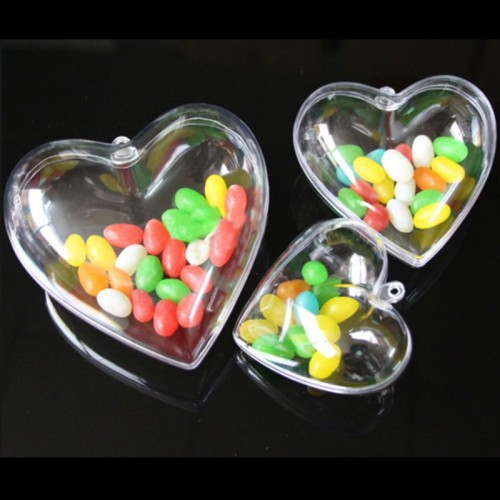 Сердце пластиковое разъемное  (высота 8 см)