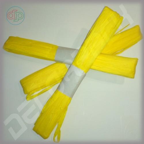 Рафия желтая