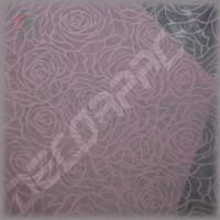 Флизелин для упаковки цветов с рисунком розовые розы
