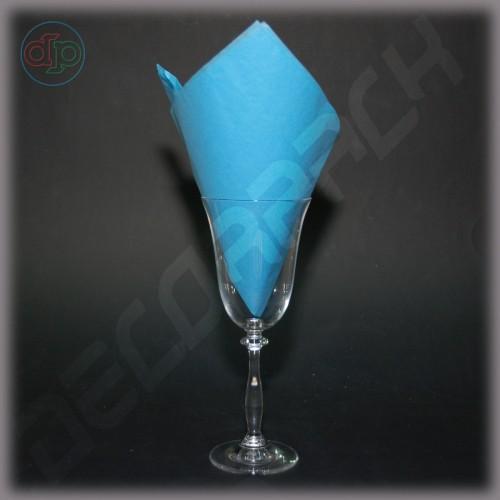 Тишью бумага голубой