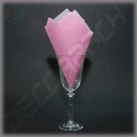 Тишью бумага нежно-розовый
