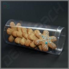 Коробка (тубус) пластиковый 80*170 мм