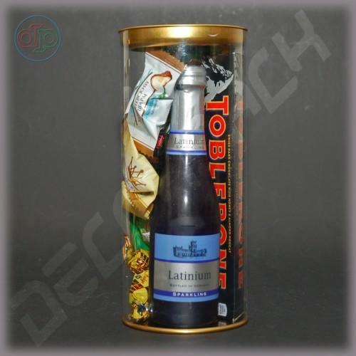 Коробка (тубус) пластиковый 100*230 мм