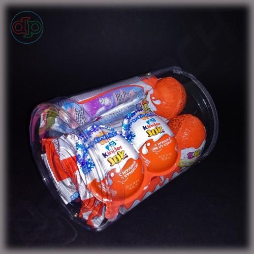Коробка (тубус) пластиковый 140*170 мм